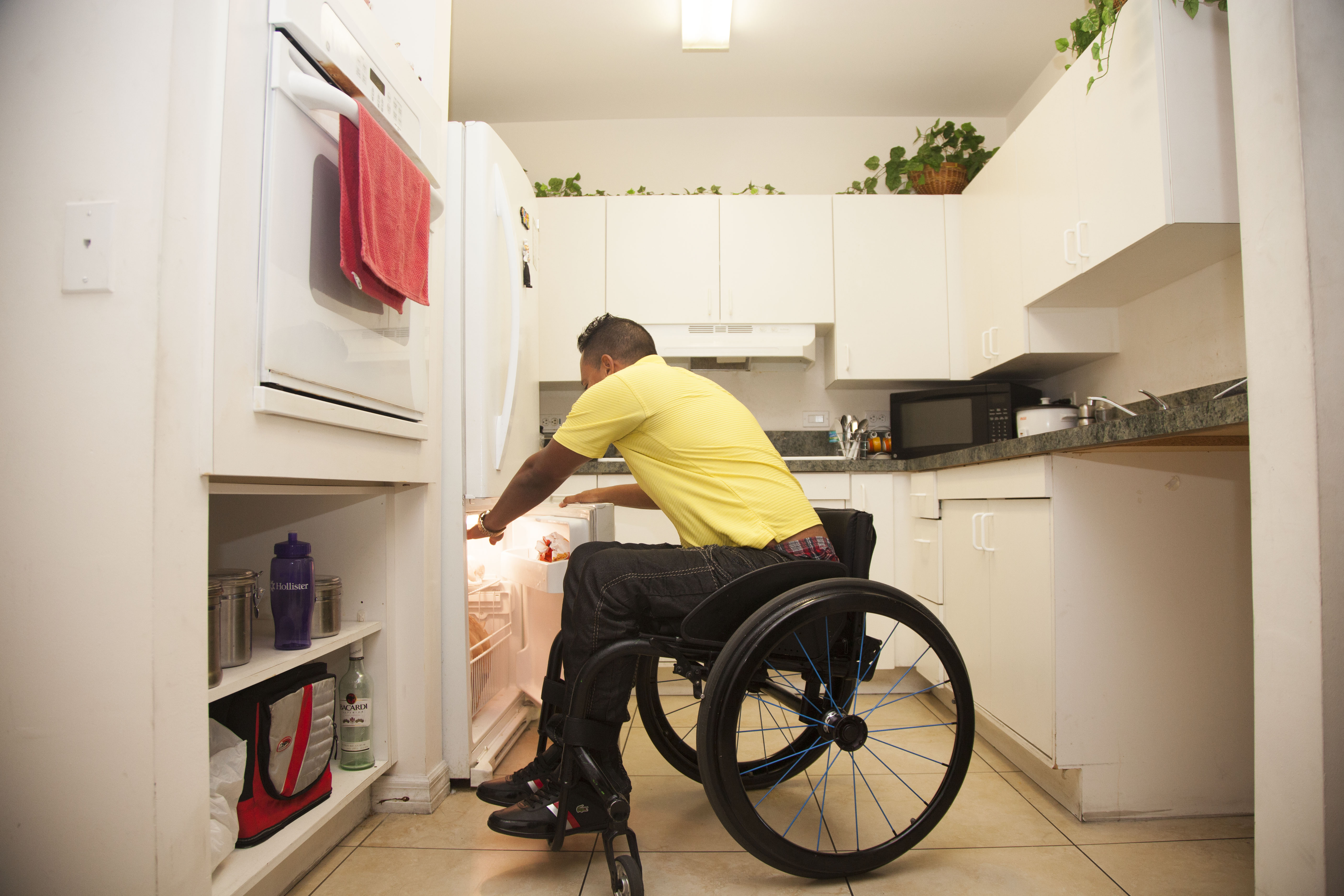 Kitchens are fully wheelchair accessible